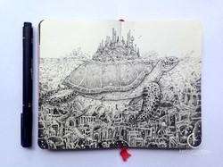 moleskine_doodles__lost_city_by_kerbyrosanes-d8cmzg3
