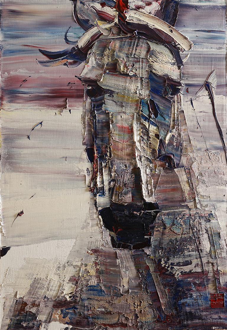 wild aura 2015 horse 021, Oil on canvas, 116.8x80.3cm 2015