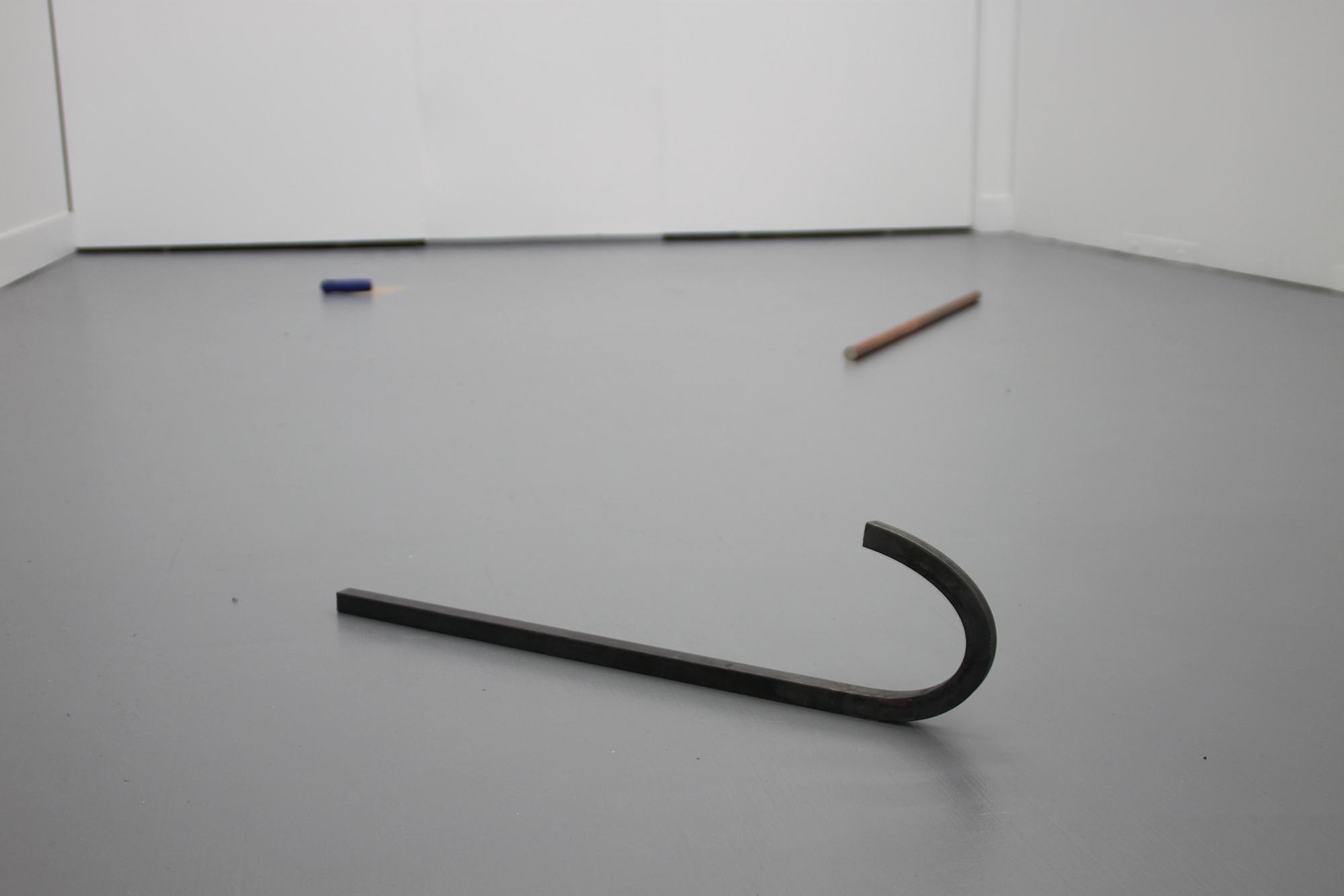 이다슬, Untitled, 2015, solid metal, 1000mm