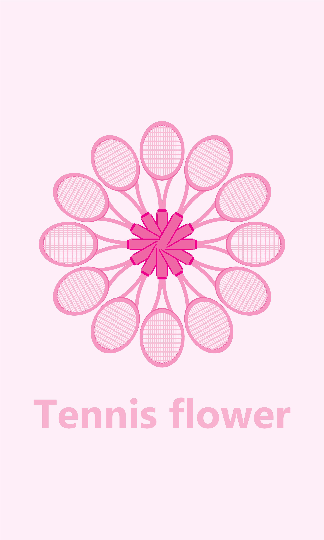 13.한라윤_TENNIS FLOWER_Adobe Illustrator_16.93x28.22cm_2015