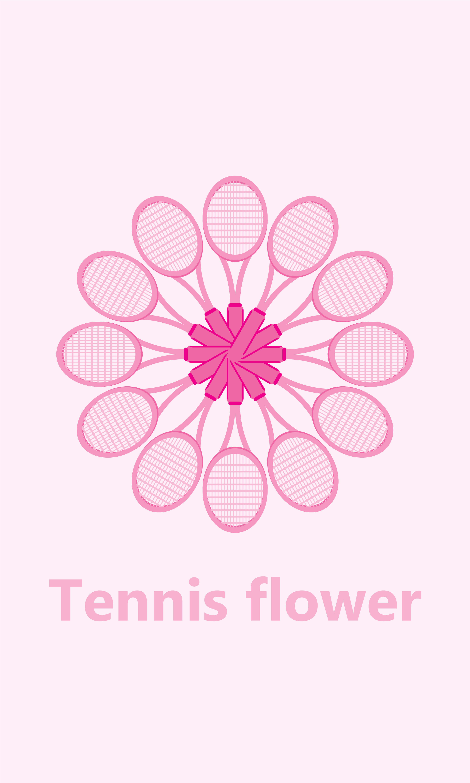 TENNIS FLOWER