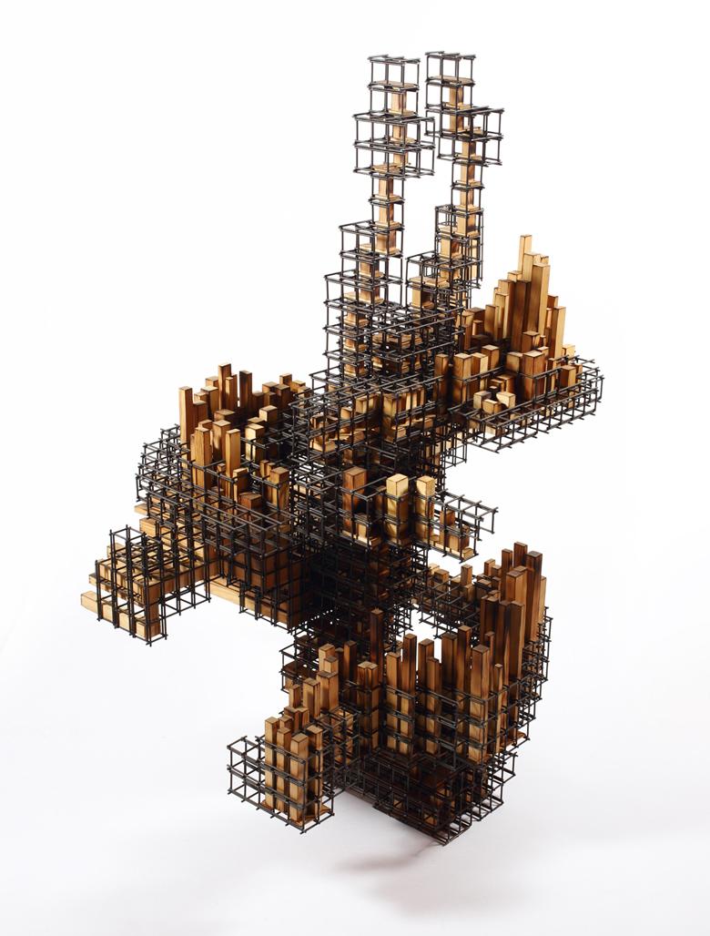 Untitled(무제)_wood(나무),steel(철)_2014