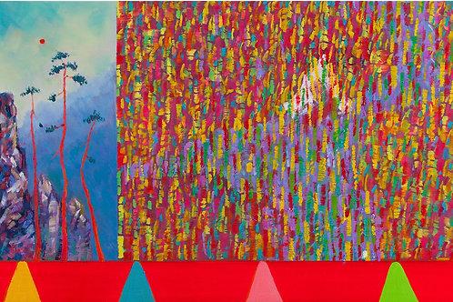 천현태, [어디로 가야하나], 2014