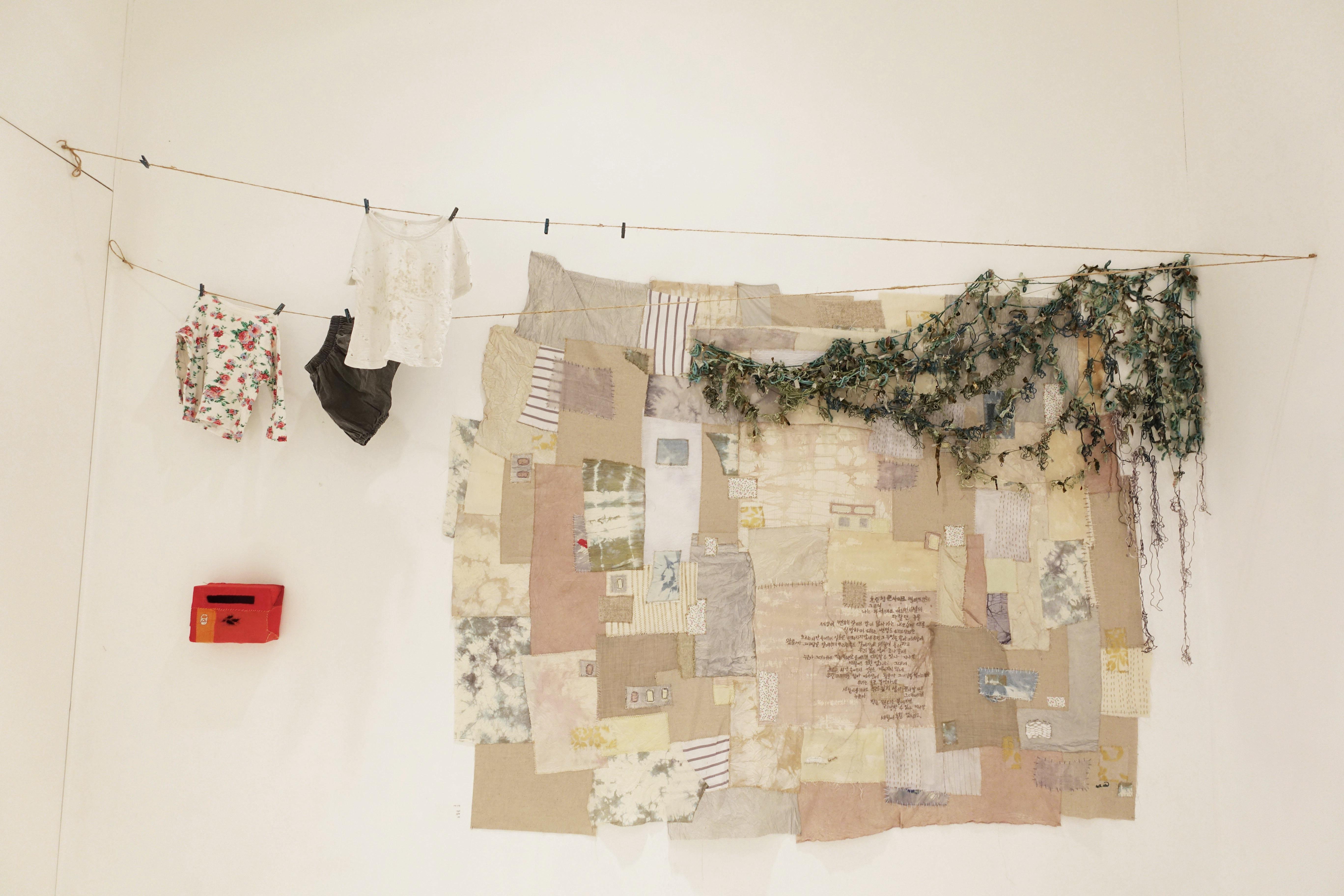 오래된 일기장,가변설치, 믹스미디어,2015
