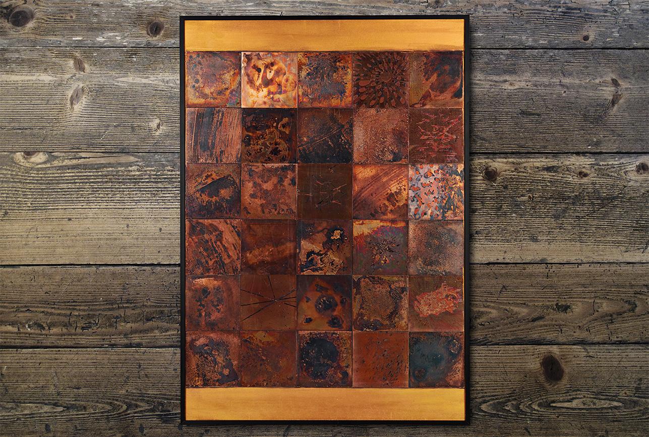 Diary, Raw II, Copper, 515X728(mm), 2016