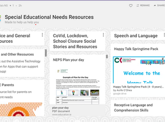 New padlet resources created