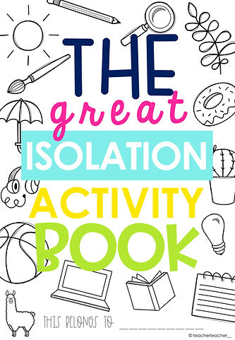 The Great Isolation Activity Book SEND-0