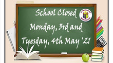 May Bank Holiday Closure