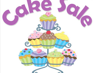 Cake Sale Friday October 12th!