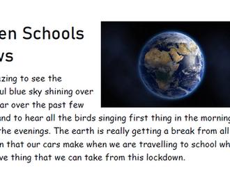 Green Schools Challenge May 2020