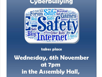 Internet Safety & Cyberbullying Talk