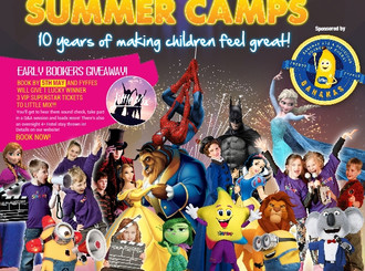 Starcamp Summer Camp here in July