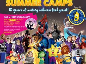 Starcamp Summer Camp here in July