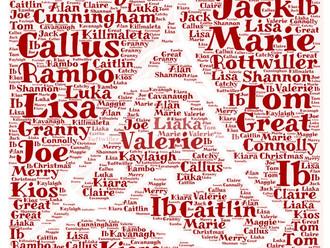 Christmas Wordles
