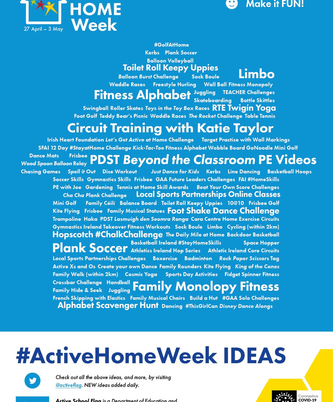 home week ideas