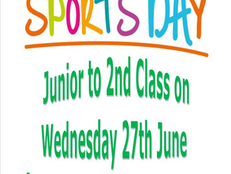 Sports Day for Juniors!