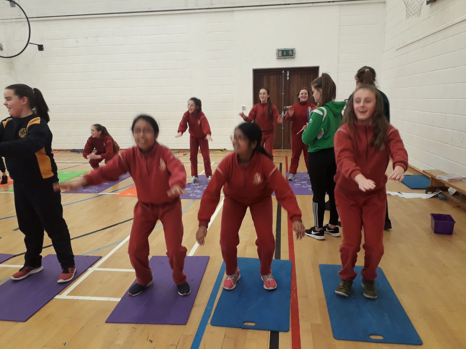 Fitness Test with Davitt College