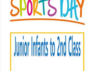 Junior Sports Day update!