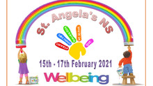 Wellbeing week in st Angela's