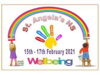 Wellbeing week in st Angela's