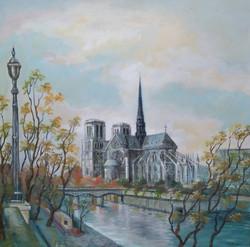 53 Notre Dame de Paris 100X100 2009