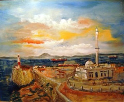 Europa Point mosquée, Gibraltar,2012