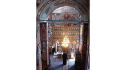 fresques, eglise perisani, Roumanie