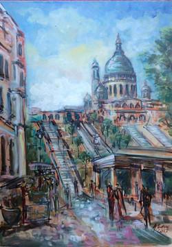 15-escalierversMontmartre50X70-2017