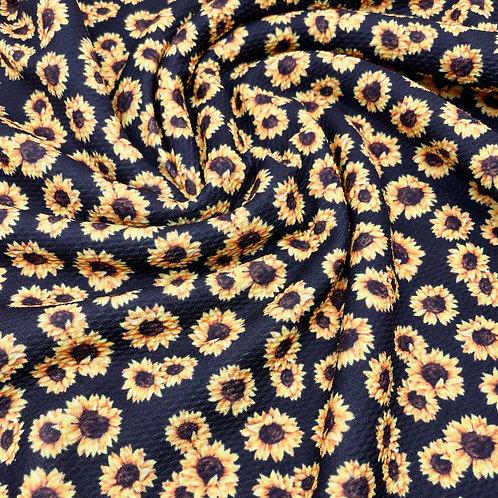 Classic Sunflowers Bullet Fabric