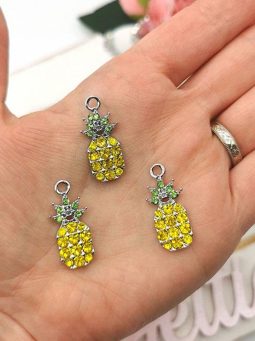 Sparkliest Pineapple Charm