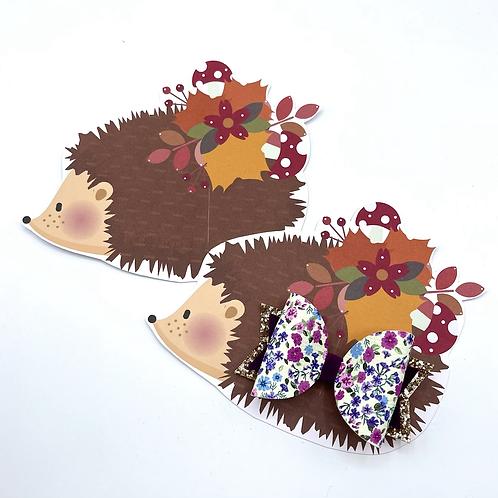 Hairbow Display Cards (Hedgehog)