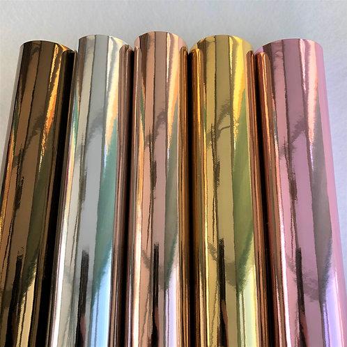 Liquid Range: Bronze, Silver, Rose, Gold, Pink