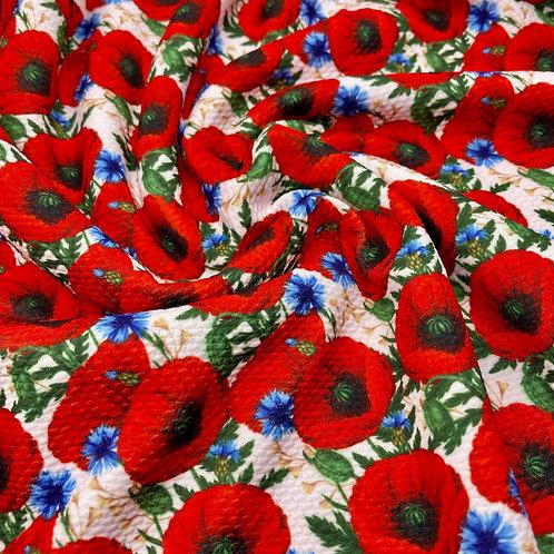 Poppy Meadow Bullet Fabric
