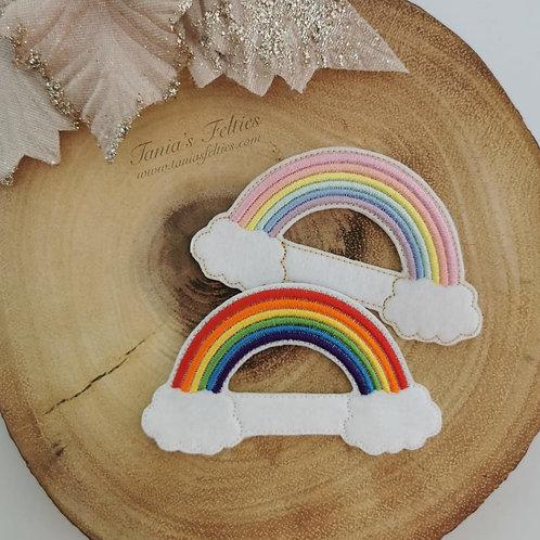 'Cloud 9' Rainbow Bow Tails