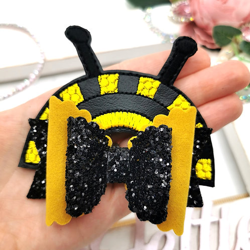 Bumblebee Rainbow Bow Tails
