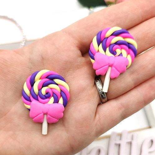 Lollipop Swirl with Bow