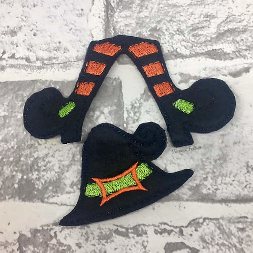 Witch Bow Parts (Orange)
