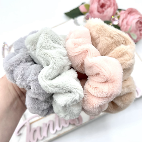 Fluffiest Scrunchies