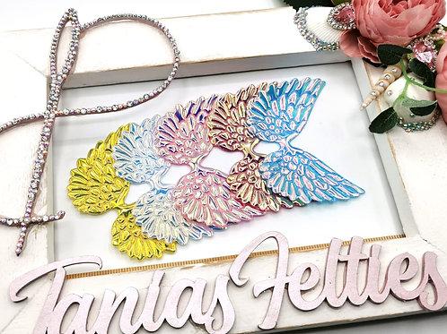 Embellishments - Iridescent Angel Wings (Oversized)