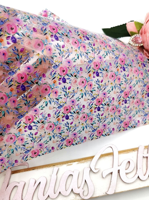 Pretty Peony Transparent Fabric
