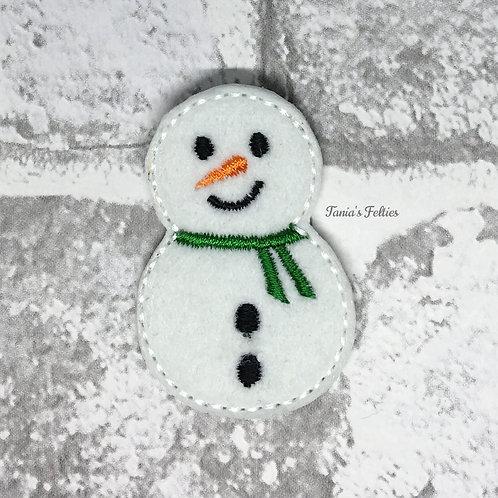 Snowman Feltie (Pack of 4)