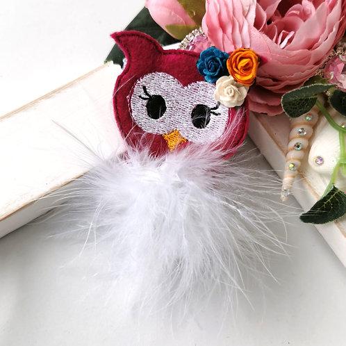 Fuzz-tums!! Ophelia Owl
