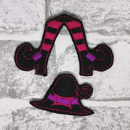 Witch Bow Parts (Pink)
