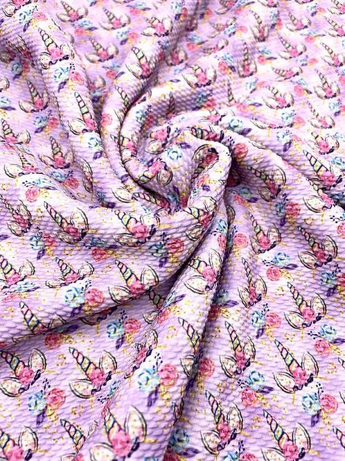 Rainbow Unicorn Bullet Fabric