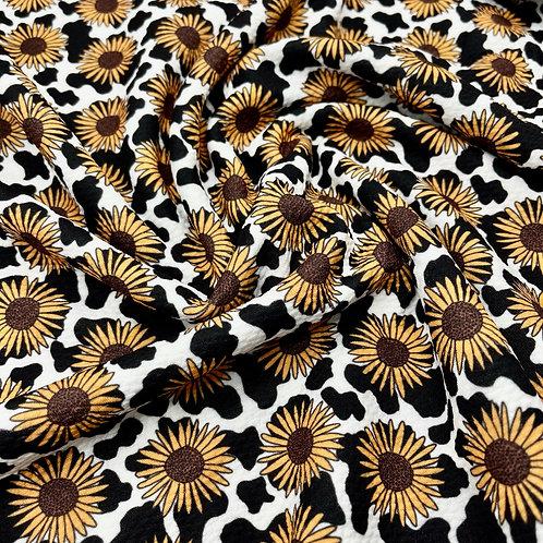 Dalmatian Sunflower Bullet Fabric