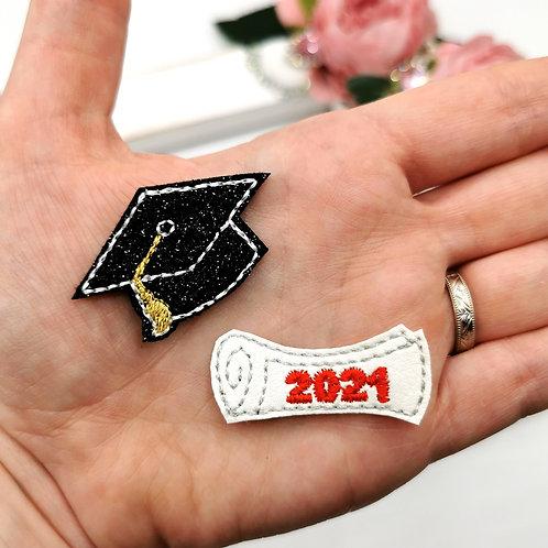 Graduation Felties (Pack of 4)