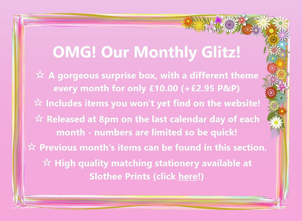 OMG! Our Monthly Glitz!