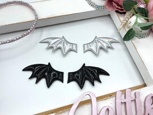 Padded Bat Wings Appliqué (Pair)