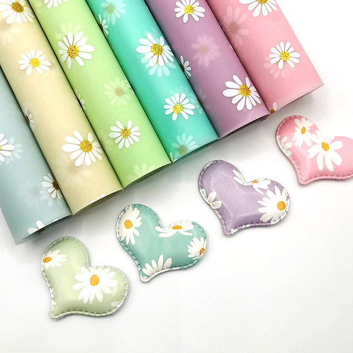 Frosted Jelly Daisy Fabric