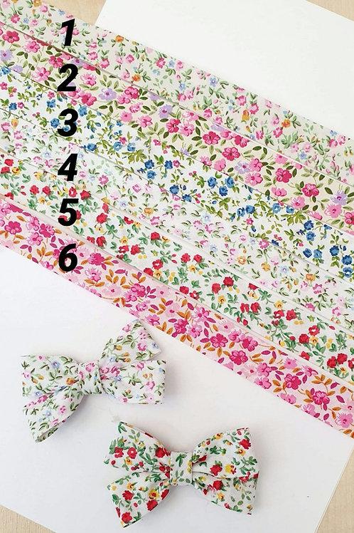 100% Cotton Floral Bias Binding (20mm)